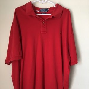 Ralph Lauren Polo Top Size XLB (Big) Red